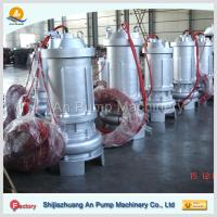 China hebei non-clog electric centrifugal submersible sewage pump on sale