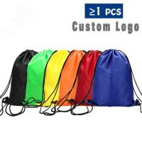 Wholesale Polyester Drawstring Backpack Backpack Pocket for Camping Hiking Traveling from china suppliers