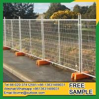Buy cheap Independence construction galvanized temporary fence for sale from wholesalers