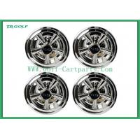 Wholesale Hubcaps Wheel Covers Golf Trolley Accessories Chrome Finish Plastic Material from china suppliers