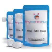 China Leak Proof Food Plastic Pouches Packaging Ziplock , Freezer Safe Breast Milk liquid pouch on sale