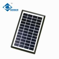 Buy cheap 3W 12V Solar Photovoltaic Panels for portable solar charger ZW-3W-12V Glass from wholesalers
