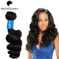 Buy cheap Natural Indian Remy Curly Human Hair Weave For Hairdressing Salon from Wholesalers