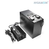 Wholesale Deep Cycle Lifepo4 EV Battery Pack With Can Bus / Bluetooth Monitoring from china suppliers