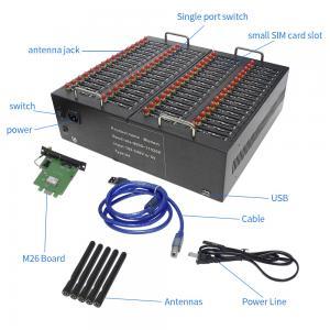 China Hot! Low Price Multi Sim bulk sms modem 8/16/32/64 Ports Gsm Pool Sms Gateway on sale