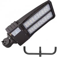 China Outdoor LED Parking Lot Lights 200w Shoebox Led Street Lamp UL DLC With Photocell on sale