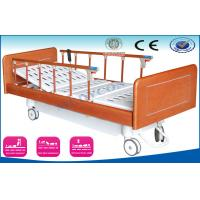 Luxury Medical Bed With Wooden Side Rails , Automatic Home ...
