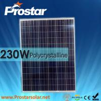 Buy cheap Prostar poly 230w photovoltaic solar panels from wholesalers