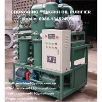 Wholesale Two stage vacuum transformer oil recycling plant,insulation oil decolorization machine from china suppliers