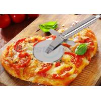 China Sanding Polishing Stainless Steel Pizza Cutter With Handle Filler 198 x 67 x 25mm on sale