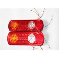 Wholesale Waterproof Double Motorcycle LED Brake Lights Red / Amber / White Color from china suppliers