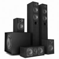 China 5.1CH Home Theater Speaker System with 2 x 4T Tower and 2 x 4B Satellite Speakers on sale