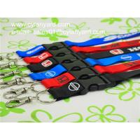 Wholesale Polyester Office lanyard with detachable clip, China printed ribbon vendor from china suppliers