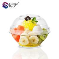 Wholesale Eco-friendly food grade 90ml disposable plastic sugar bowl with lid from china suppliers