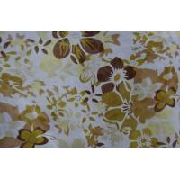 Wholesale Lean Textile polyester flower printed chiffon fabric from china suppliers