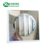 China Return Air Grilles Clean Room Ventilation Architectural Air Shutter With Pipe Connection on sale