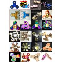 Buy cheap NEW design high quality brass hand type fidget spinner Rotation Time Long Anti Stress from wholesalers