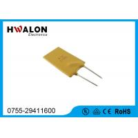 Buy cheap 11.2Mm PTC resettable fuse and circuit breakers Low resistance from Wholesalers