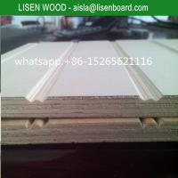 Wholesale 9mm 12mm slot pine plywood with full pine core for chile market from china suppliers