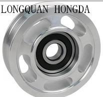 OEM High Precision Aluminum Belt Pulleys / Custom Air Compressor Pulley