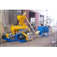 Buy cheap Alloy Steel Fish Feed Machinery - 1-1.2t/h Fish Feed Production Line for Nigeria from Wholesalers