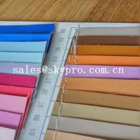 Wholesale Fashion design pvc synthetic leather pu coated leather with backing fabric from china suppliers