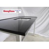 China Classic Black Wide Marine Edge Countertop Laboratory Parts 30mm Thickness on sale