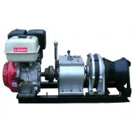Buy cheap 50 KN Fast Line Speed 5 Ton Speedy Gasoline Engine Winch for Power Construction from Wholesalers