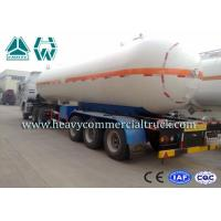 Buy cheap Round Shape Large Capacity Gas Tank Semi Trailer Anti - Corrosion Propane from Wholesalers