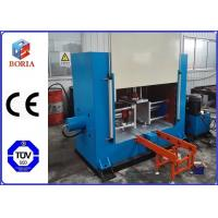 Wholesale Close Type Rubber Sheet Processing Machine Electric / Steam Heating 1000x600 Hot Plate Size from china suppliers