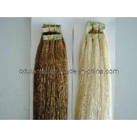 Double Side European Silky Tape Hair Extensions for sale