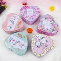 Wholesale Candy Packaging Metal Tin Box Heart Shape For Valentine And Birthday from china suppliers