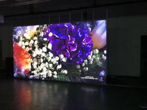 Wholesale Full Color Stage Background Display Rental Indoor P2.5 640x640mm cabinet   led panel for  rental event from china suppliers