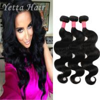 Buy cheap Natural Color 6A Virgin Hair Indian Body Wave Hair Extensions Large Stock from Wholesalers