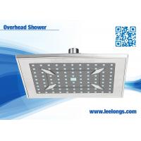 Wholesale Overhead Wall Mounted  Square 8 Inch Bathroom Shower Head Rain For Bathtub from china suppliers