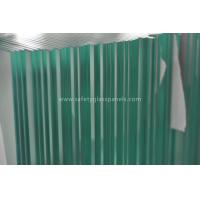 Buy cheap Modern Flat Top Glass Pool Fencing 8mm - 19mm Toughened Safety Glass from Wholesalers