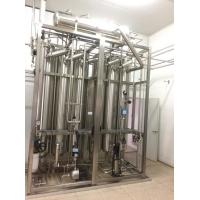 China Multi effect water distillation machine For Water For Injection WFI on sale