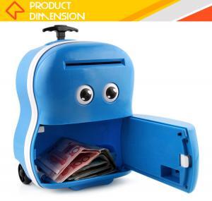 China New arrival safe storage mini atm saving plastic kids money box on sale