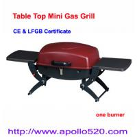 China Portable Steel LPG Gas Barbeque Grill single burner on sale