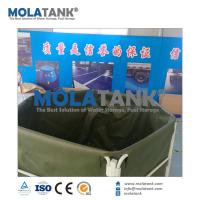 Wholesale Molatank Large Size PVC Tarpaulin Collapsible Aquaponic Fish Farm Farming Keeping Tank with Good Quality from china suppliers