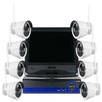 China New 10 Inches Screen NVR HD IP Camera Kit Wireless 8CH 1080P WIFI NVR Kit on sale