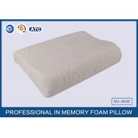 Wholesale Comfort Waved shapded Memory Foam Contoured Pillow , Classic Memory Foam Pillow from china suppliers