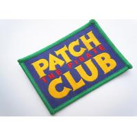 Wholesale Handmade Custom Clothing Patches Embroidered Brand Logo Patch from china suppliers
