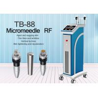 Buy cheap 2MHZ Monopolar RF Stretch Mark Removal Fractional rf microneedling Machine from wholesalers