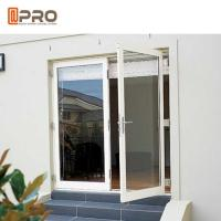 Wholesale Interior Aluminium Hinged Doors With Double Low E Glass For Residential House from china suppliers