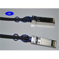 Silver Connector Round Passive Copper Cable For Network Attached Storage