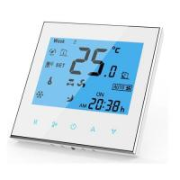 China Room Chilled Water Fan Coil Unit Thermostat With BMS Modbus RS485 TF-703 Series on sale