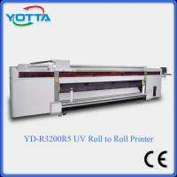 Buy cheap uv led printer for both roll to roll and flat material wallpaper fabric uv printer from wholesalers
