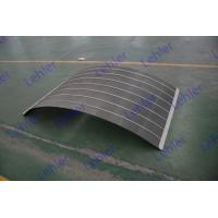 Stainless Steel Wedge Wire Screen Panels Curved Screen High Capacity / Efficiency