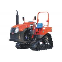 Wholesale New 70HP Farm Crawler Track Tractor with Steering Wheel for Rice Paddy and Dry Field from china suppliers